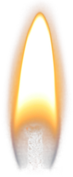 Candle flame png. Psd official psds