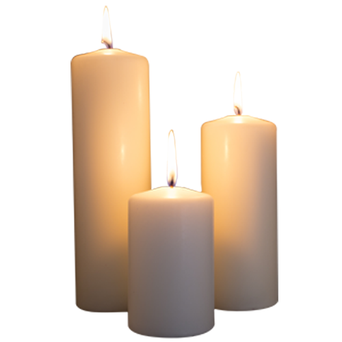 Lit candles png. Taking photos by candlelight
