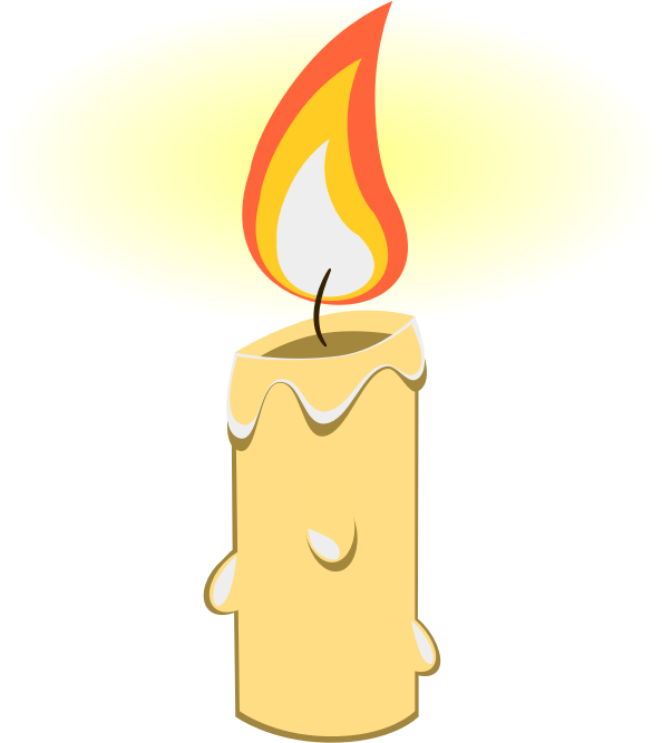 Candle glow png. Collection of clipart