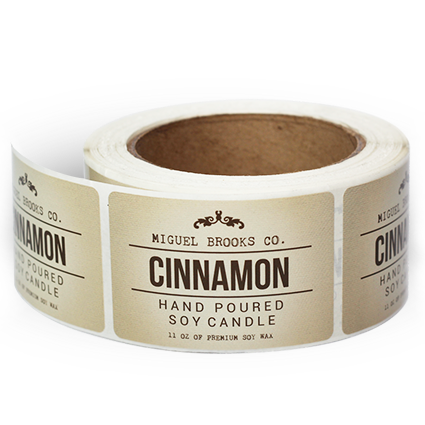 Candle label png. Product labels design templates