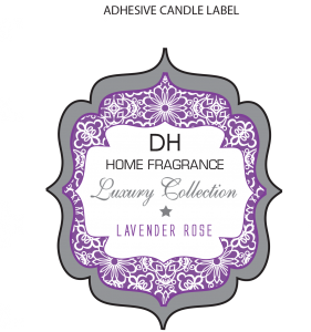 Candle label png. Dh labels visual technologies