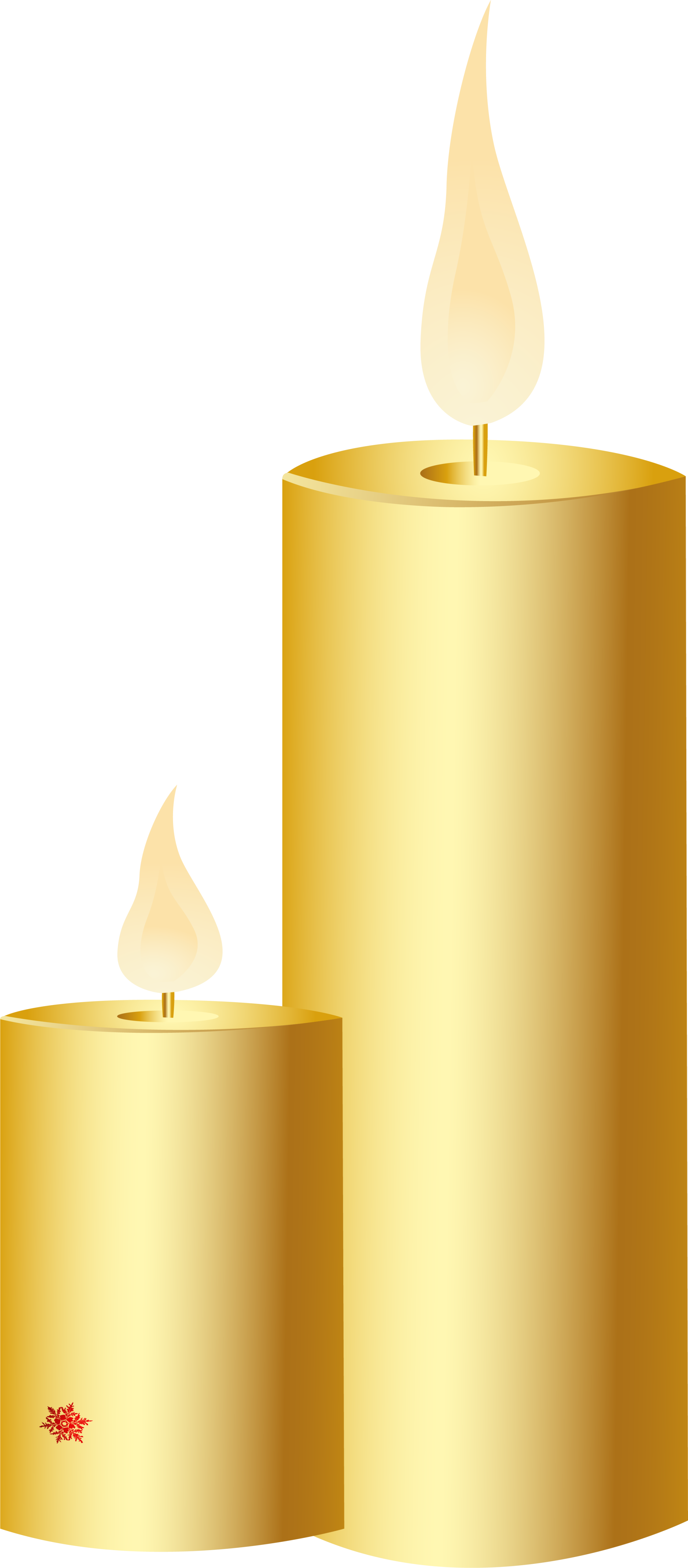 Candle light png. Yellow simple transprent download