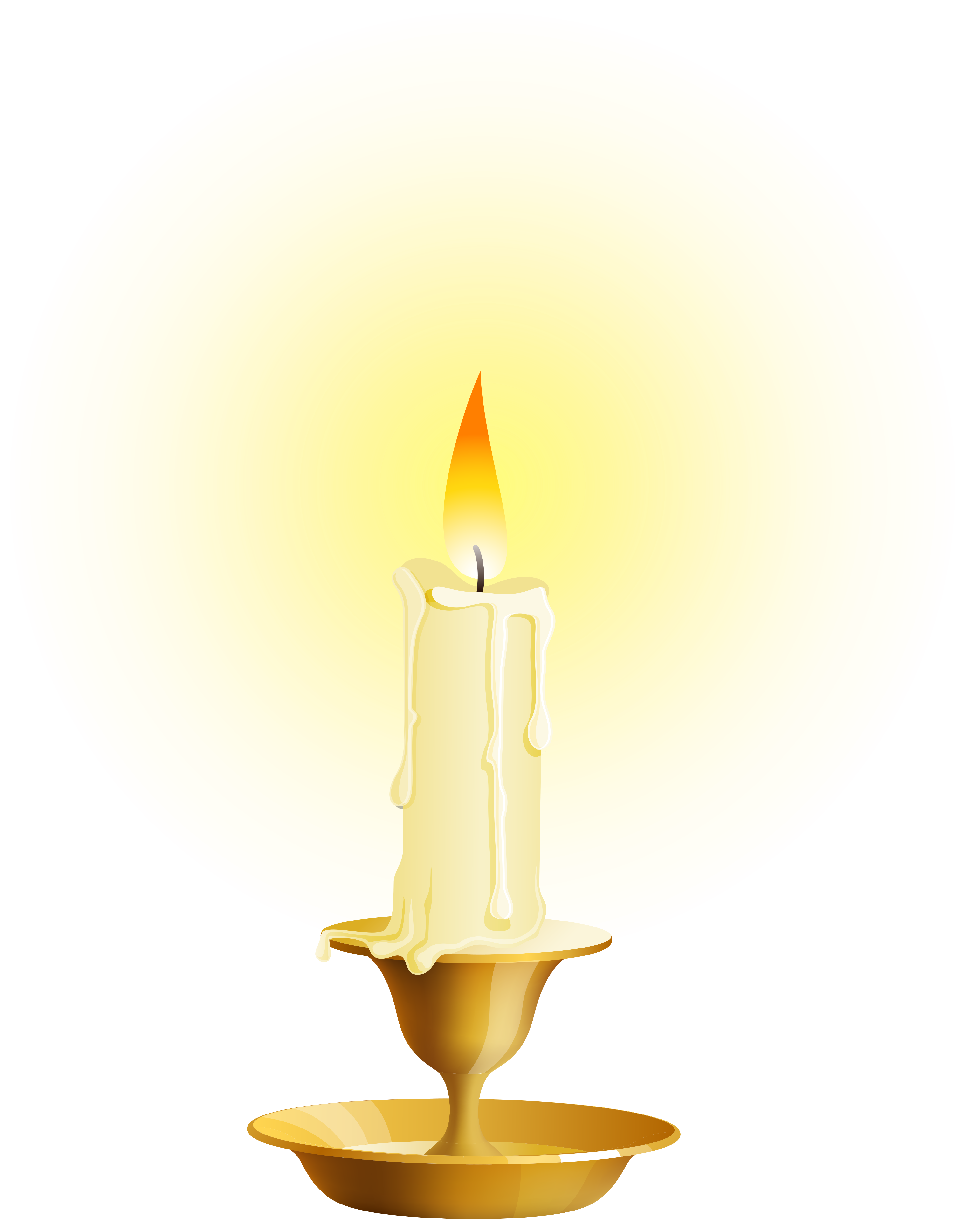 Candle png. White clip art best