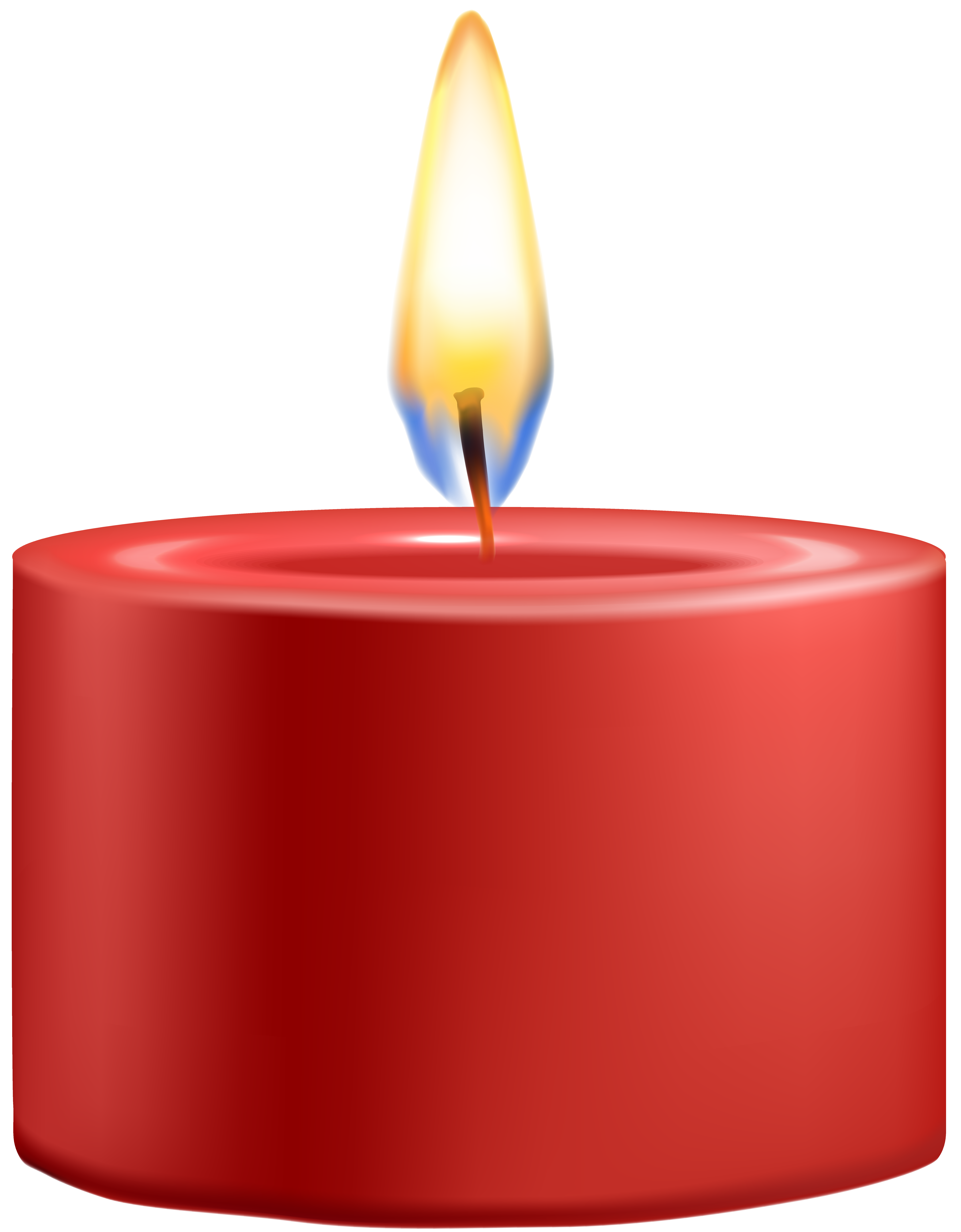 Red clip art best. Candle png clipart free download