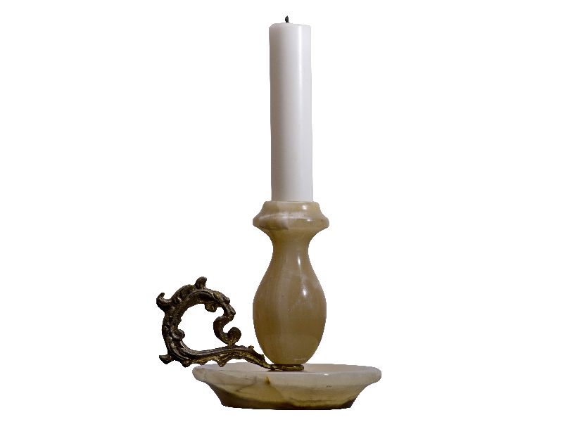 Candle stick png. With candlestick isolated objects