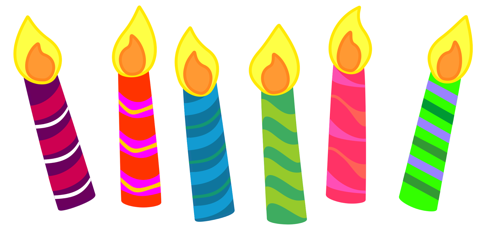 Candles clipart. Free large images cards