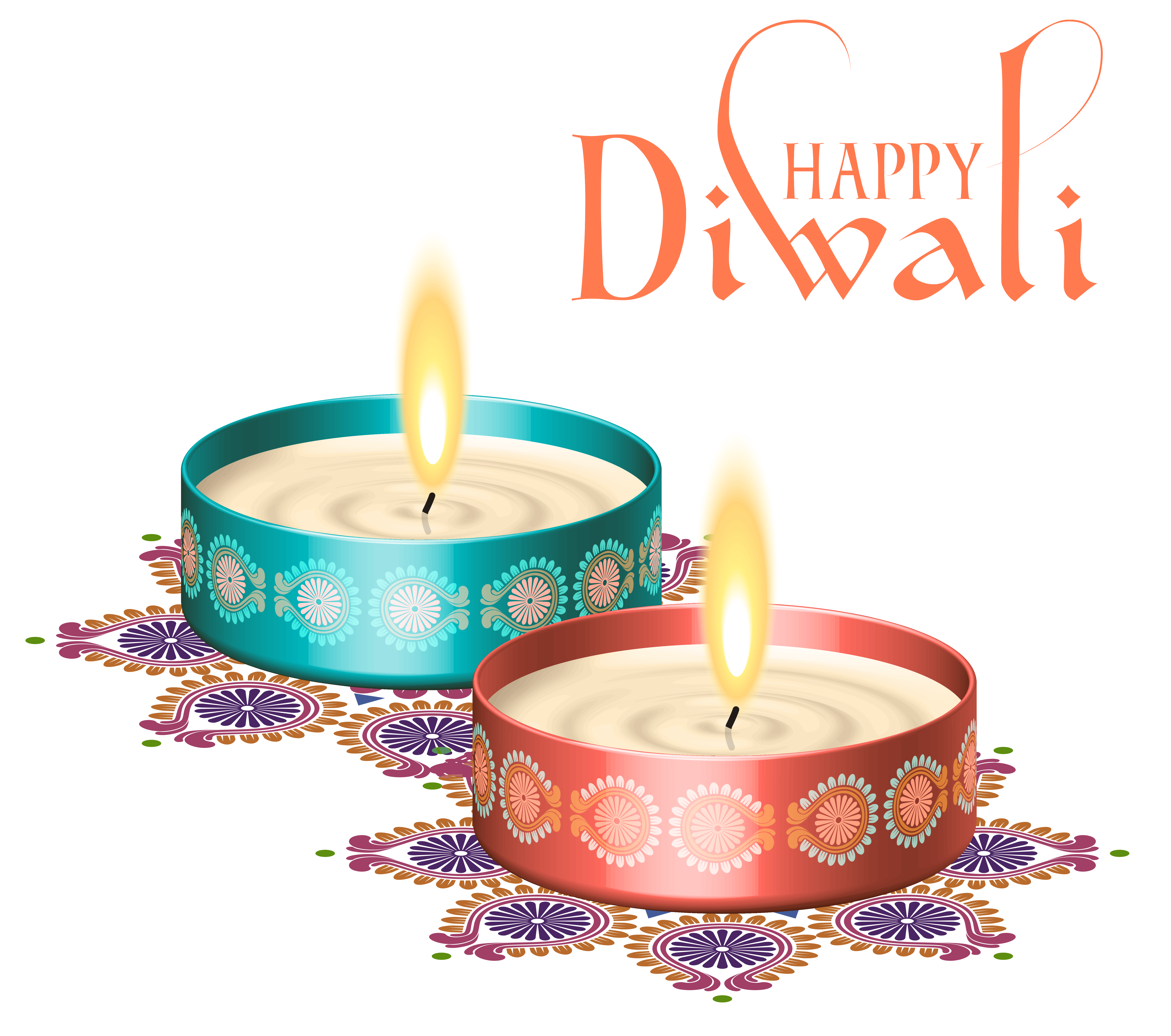 Happy diwali nice candles. 5 candle png png library download