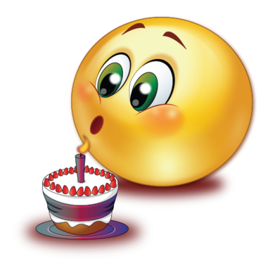 Candles clipart emoji. Birthday cake blowing candle