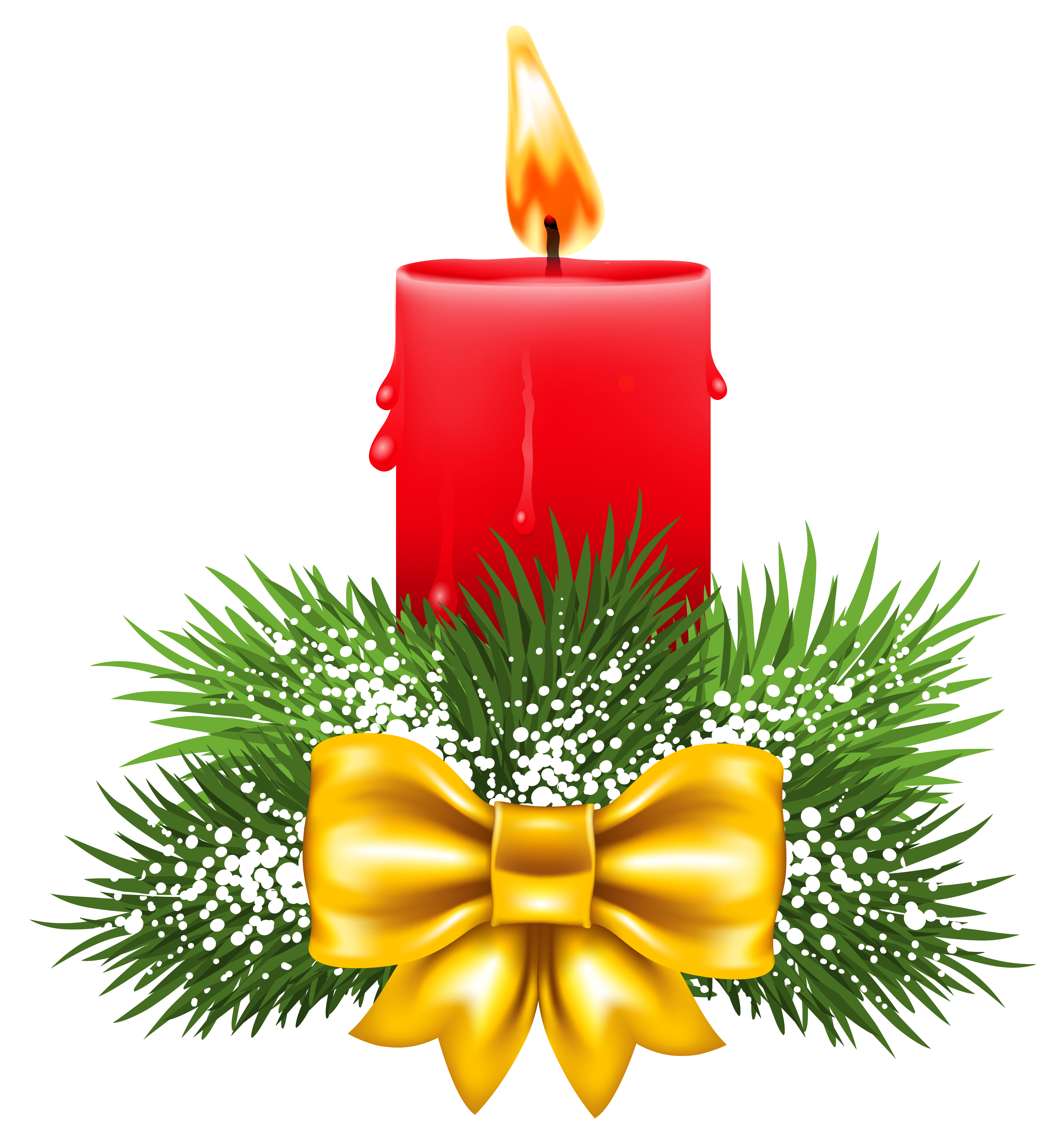 red candles png