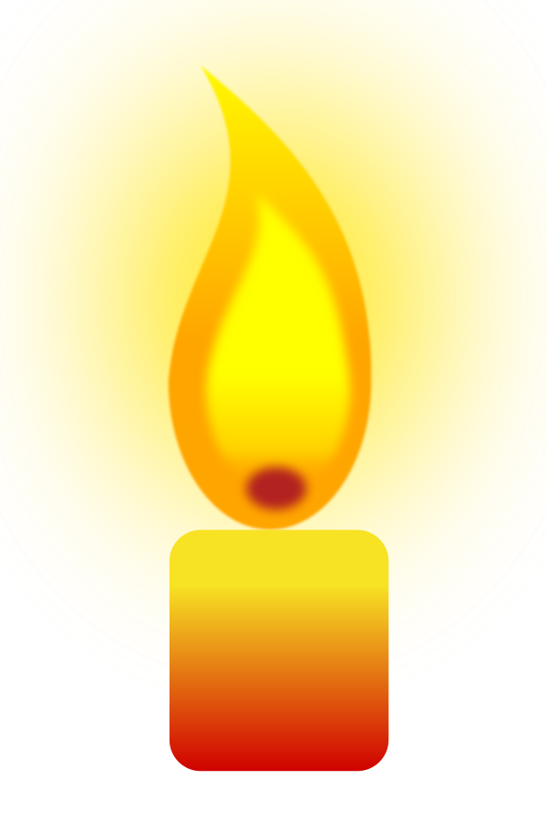 Candles clipart vela. Free candle flame download