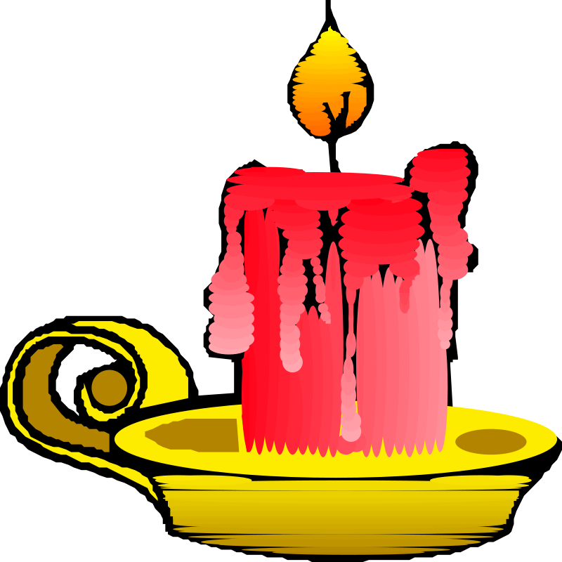 Candles clipart vela. Candle by smurf cliparts
