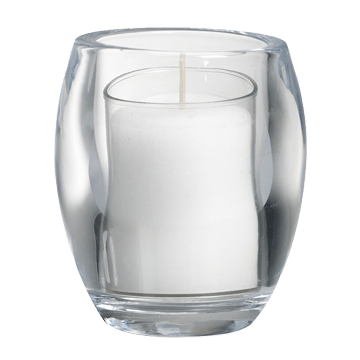 Candles in glass png. Bolsius accessories relight holder