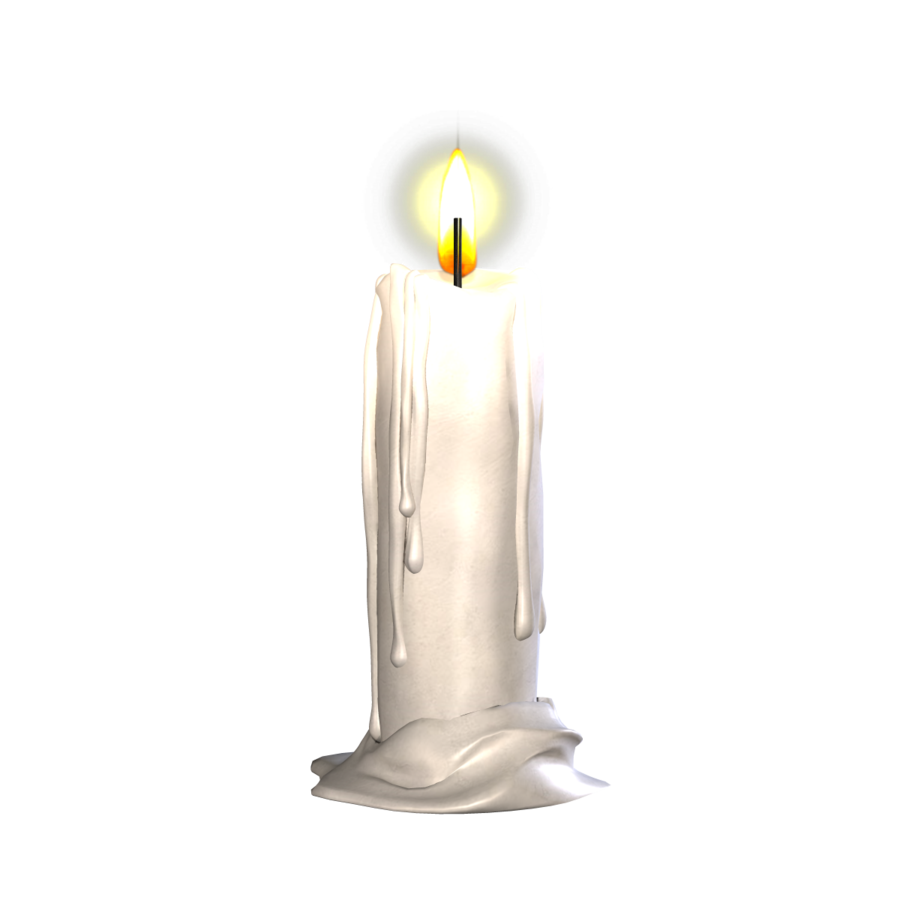 Candles png. Transparent images all