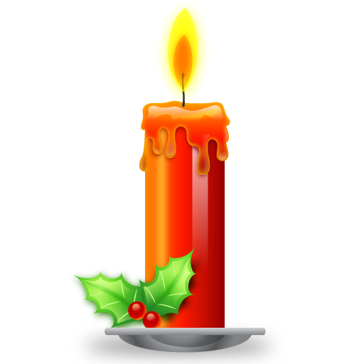 Red candle png. Candles images transparent free