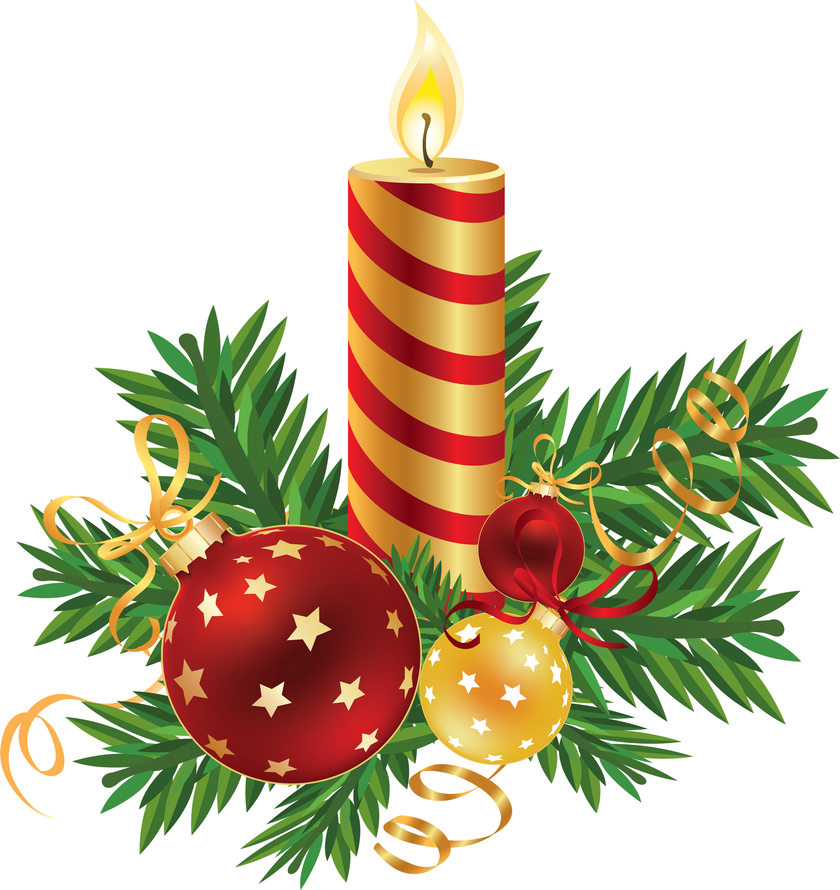 Candles png images. On stand transparent stickpng