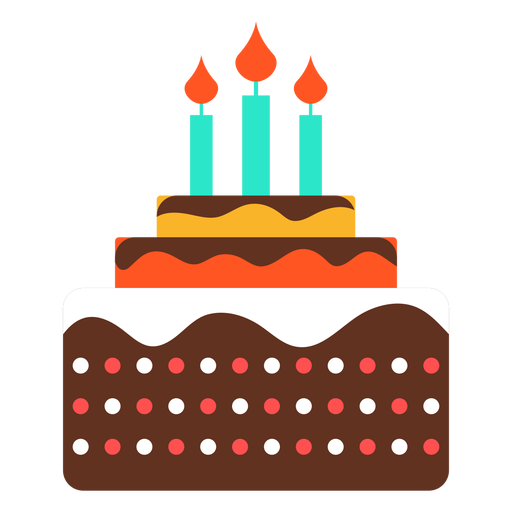 Cake 2 Candles Vector Transparent Png Clipart Free Download Ya