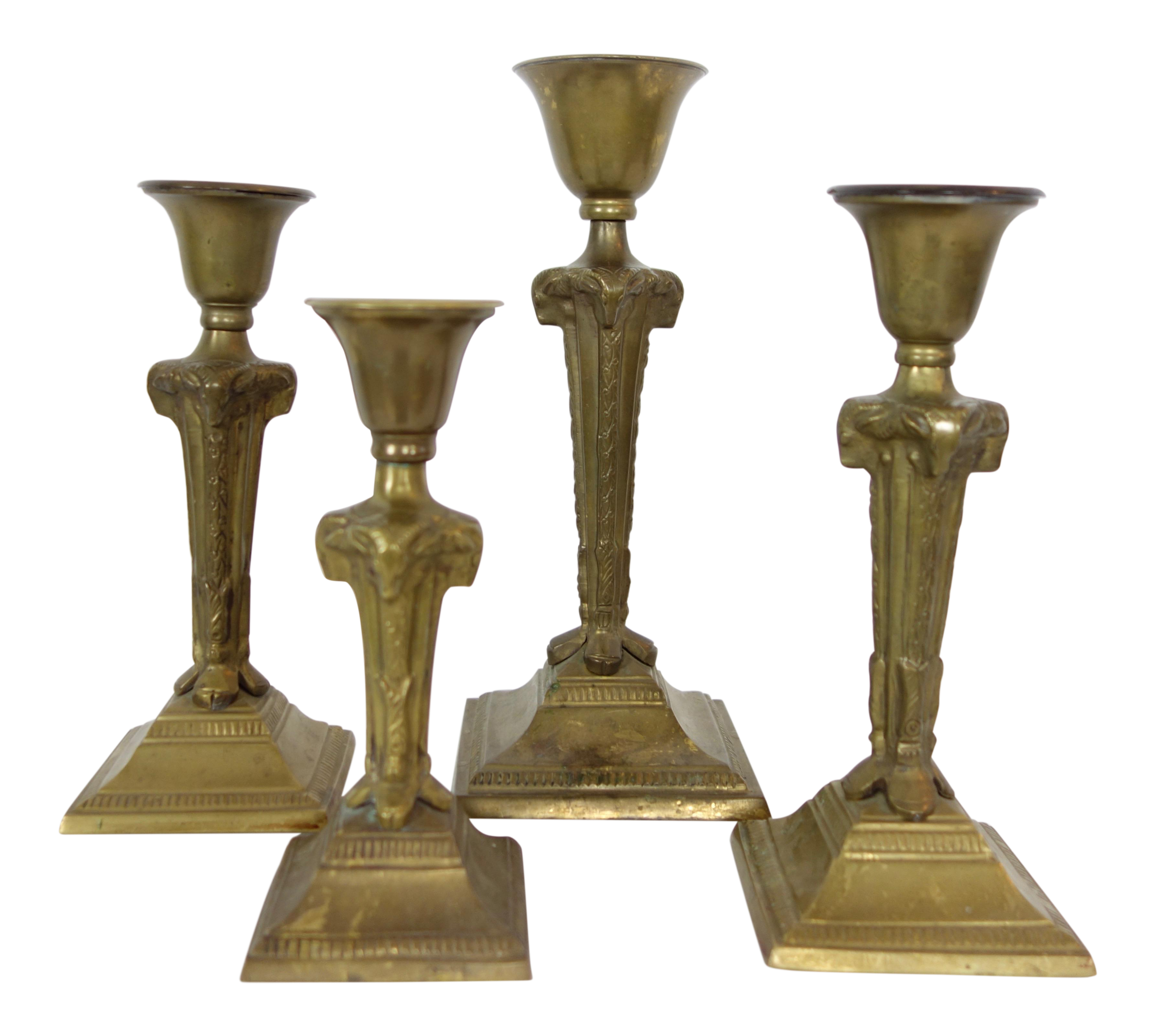 candlestick drawing antique