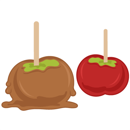 Candy apples png. Candied svg cutting files