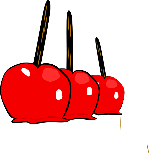 Candy apples png. Yummy clip art at