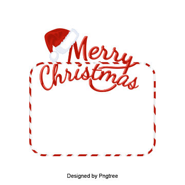 Transparent textbox christmas. Candy png vectors psd