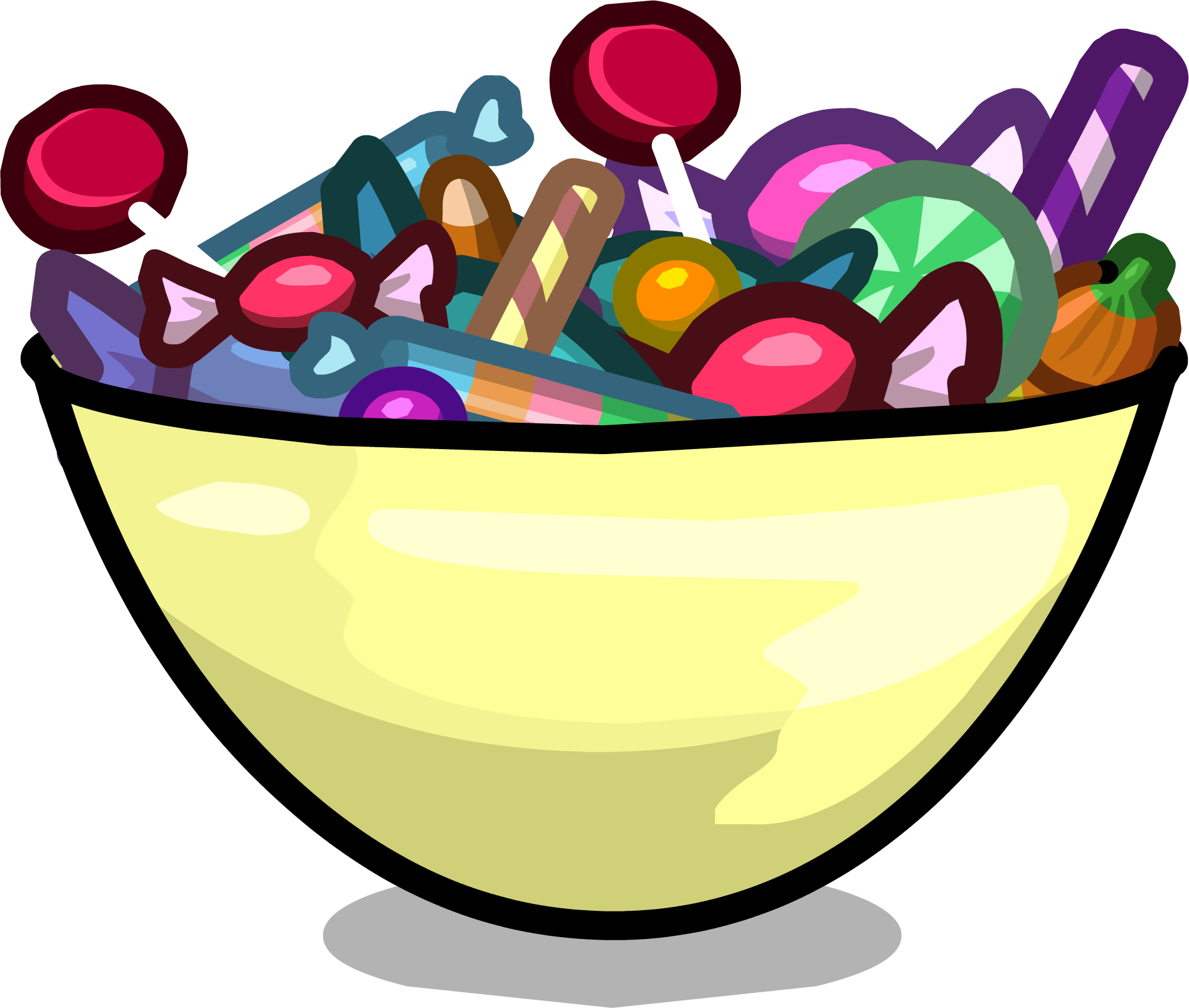 Candy bowl png. Trick or treats club