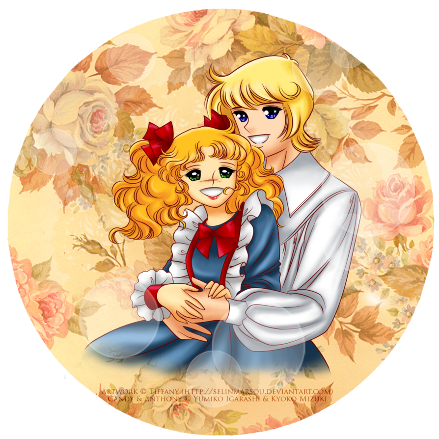 Candy candy png. Anthony and by selinmarsou