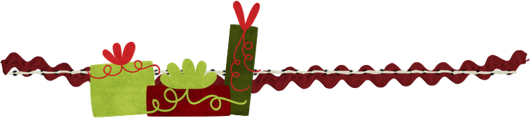 Candy cane divider png. Christmas dividers transparent background