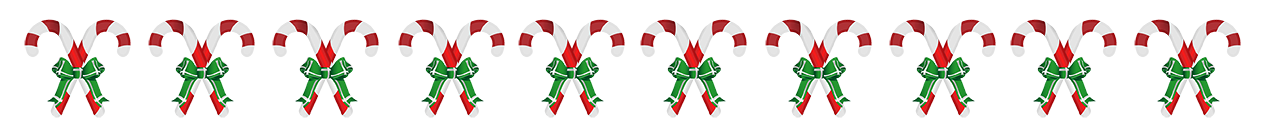 Candy cane divider png. Christmas clip art borders