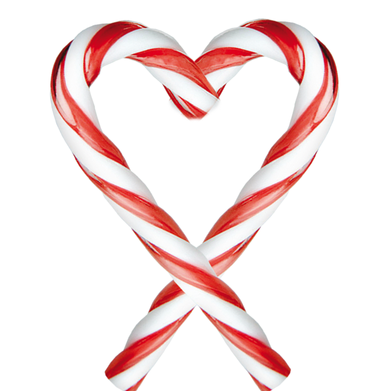 Christmas Heart Png.Candy Cane Heart Transparent Png Clipart Free Download Ywd