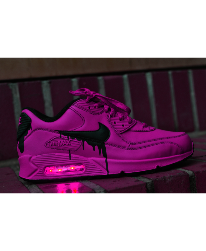 Nike Air Max 90 Candy Drip Colorful White Womens Sale UK