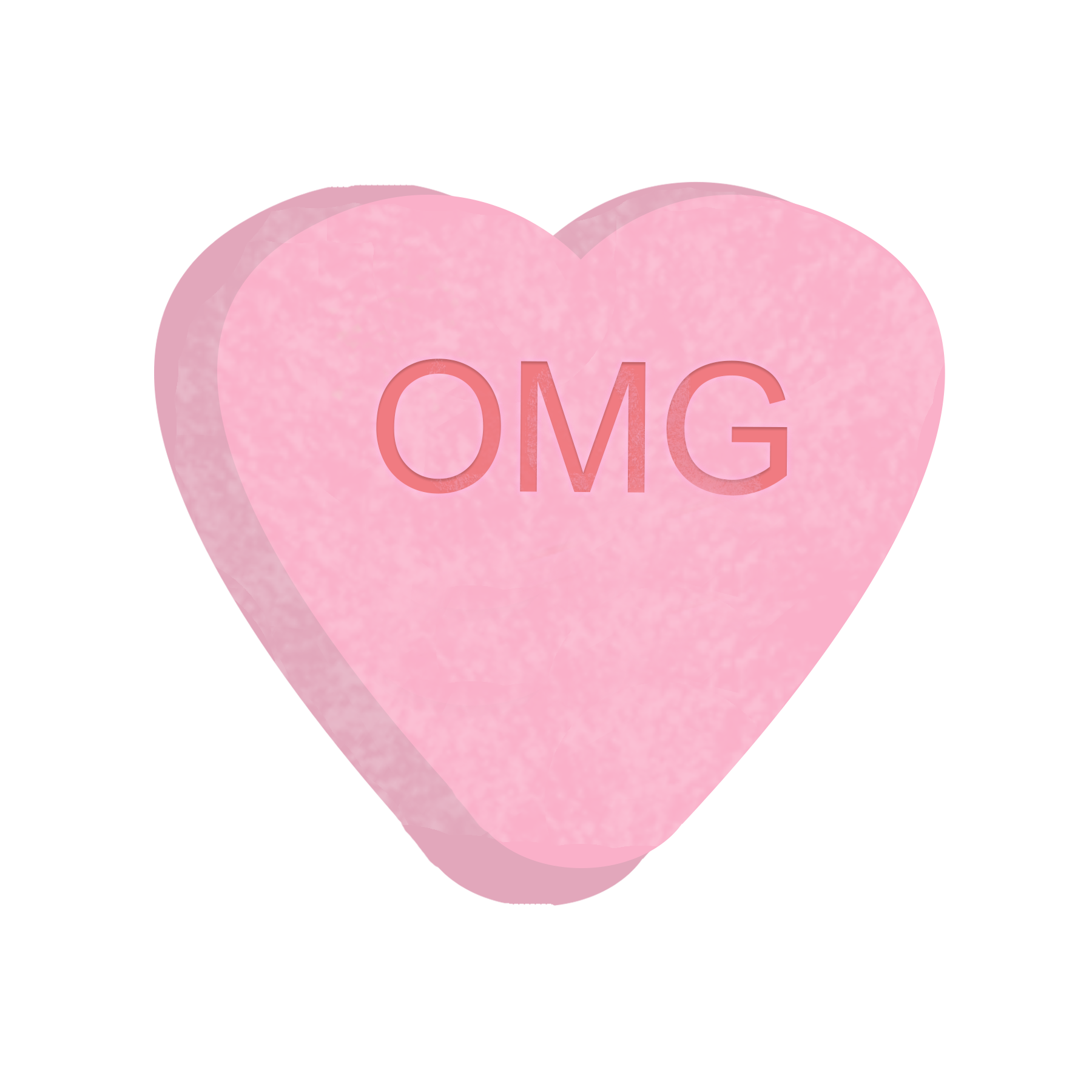 Candy hearts png. Animation in the first
