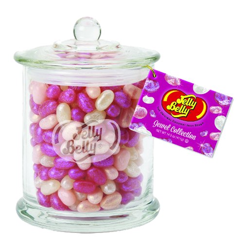 Candy jar png. Jelly belly jewel collection