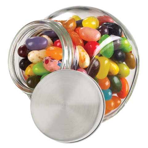 Candy jar png. Personalized glass my jelly