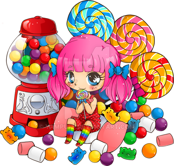 Candy pile png. Box nd commission by