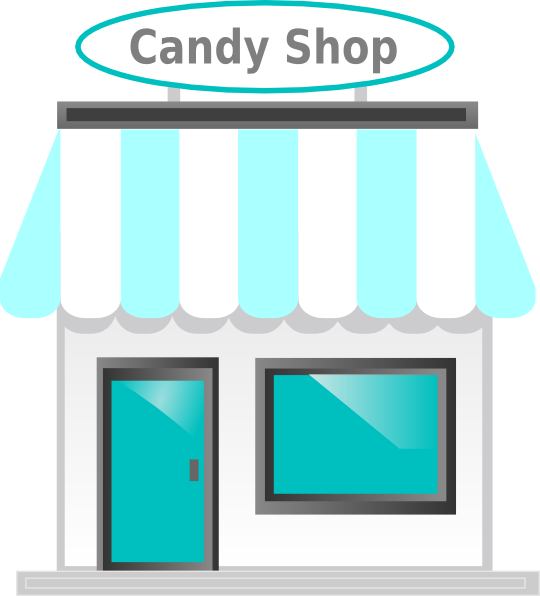 Candy shop png. Front clip art at