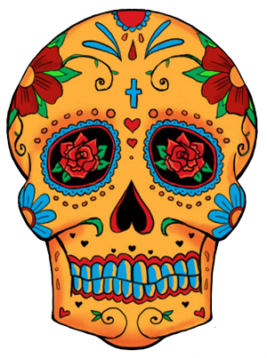Mexican skull png. Candy image