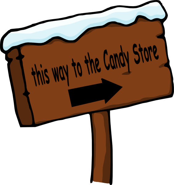 Candy store png. Sign clip art at