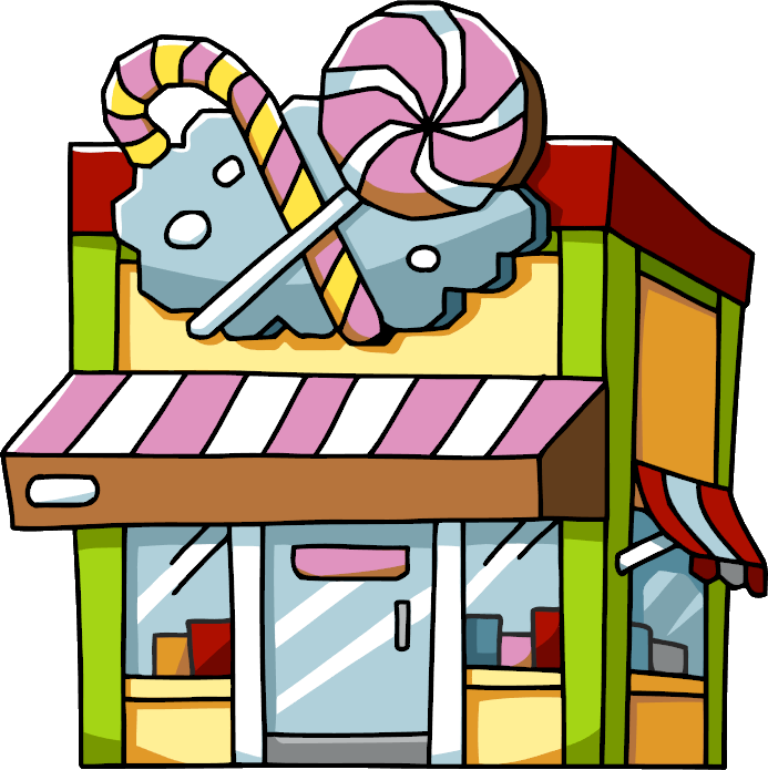 candy store png