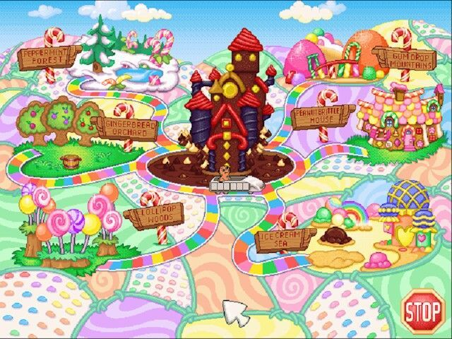 Cupcake Commons Candyland