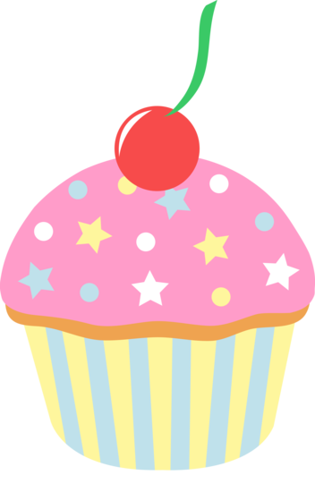 Candyland clipart giant cupcake. Strawberry sprinkles cherry png