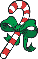 Cane clipart weak. Fivesibes december christmastime has