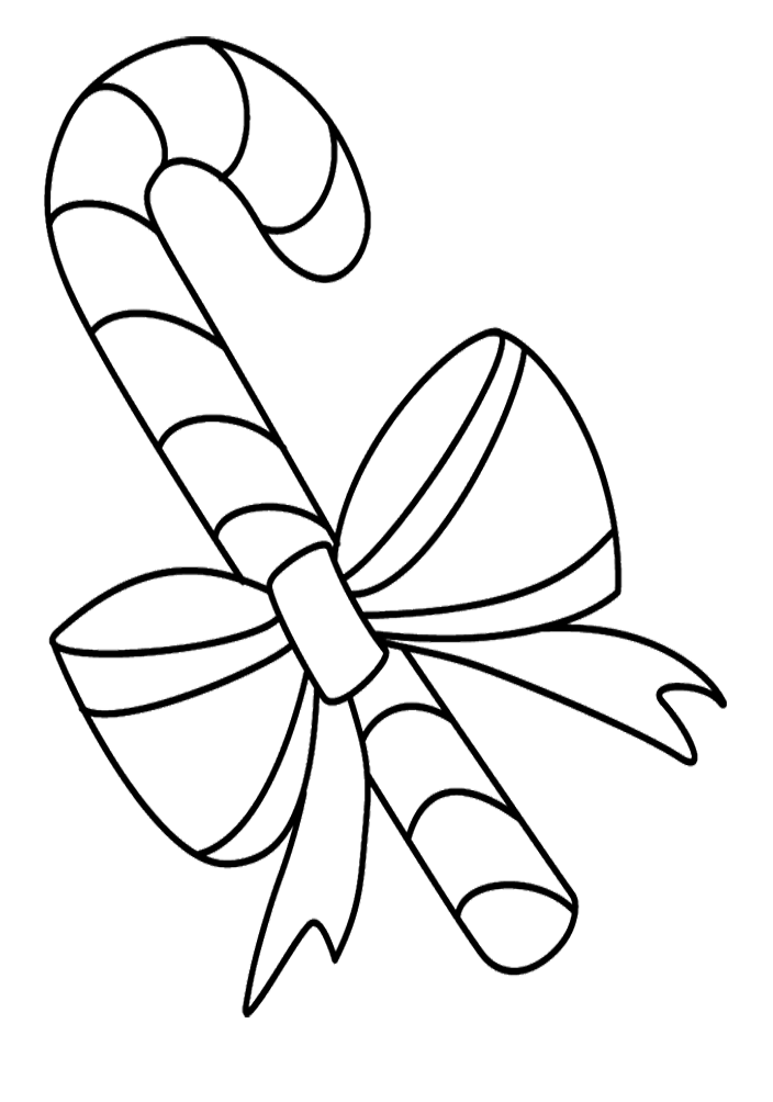 Cane drawing clipart black and white. Collection of candy