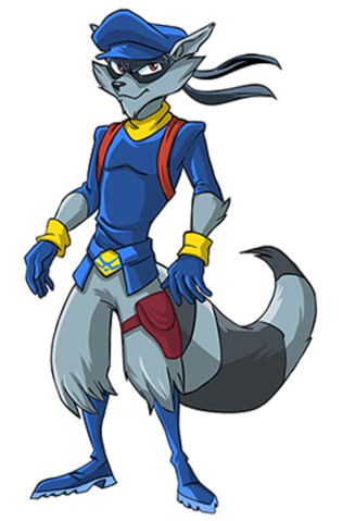 Cane drawing sly cooper. Pinterest videojuegos and favoritos