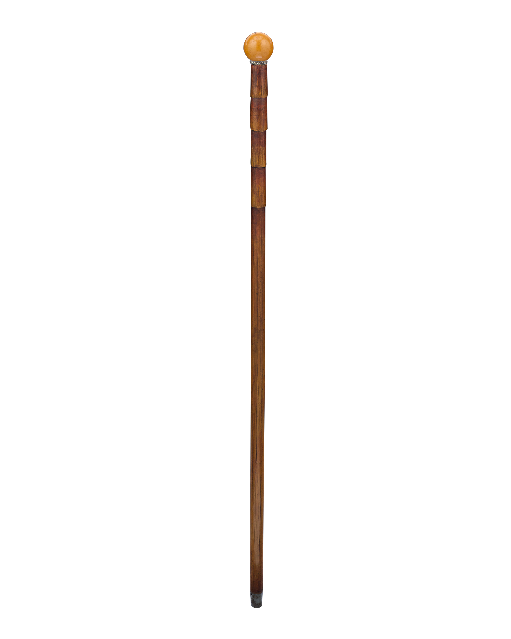 Cane transparent bamboo. Games walking sticks since