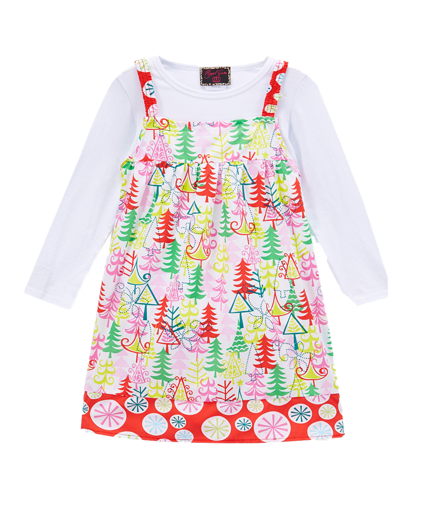 Cane transparent dress. Pc candy forest