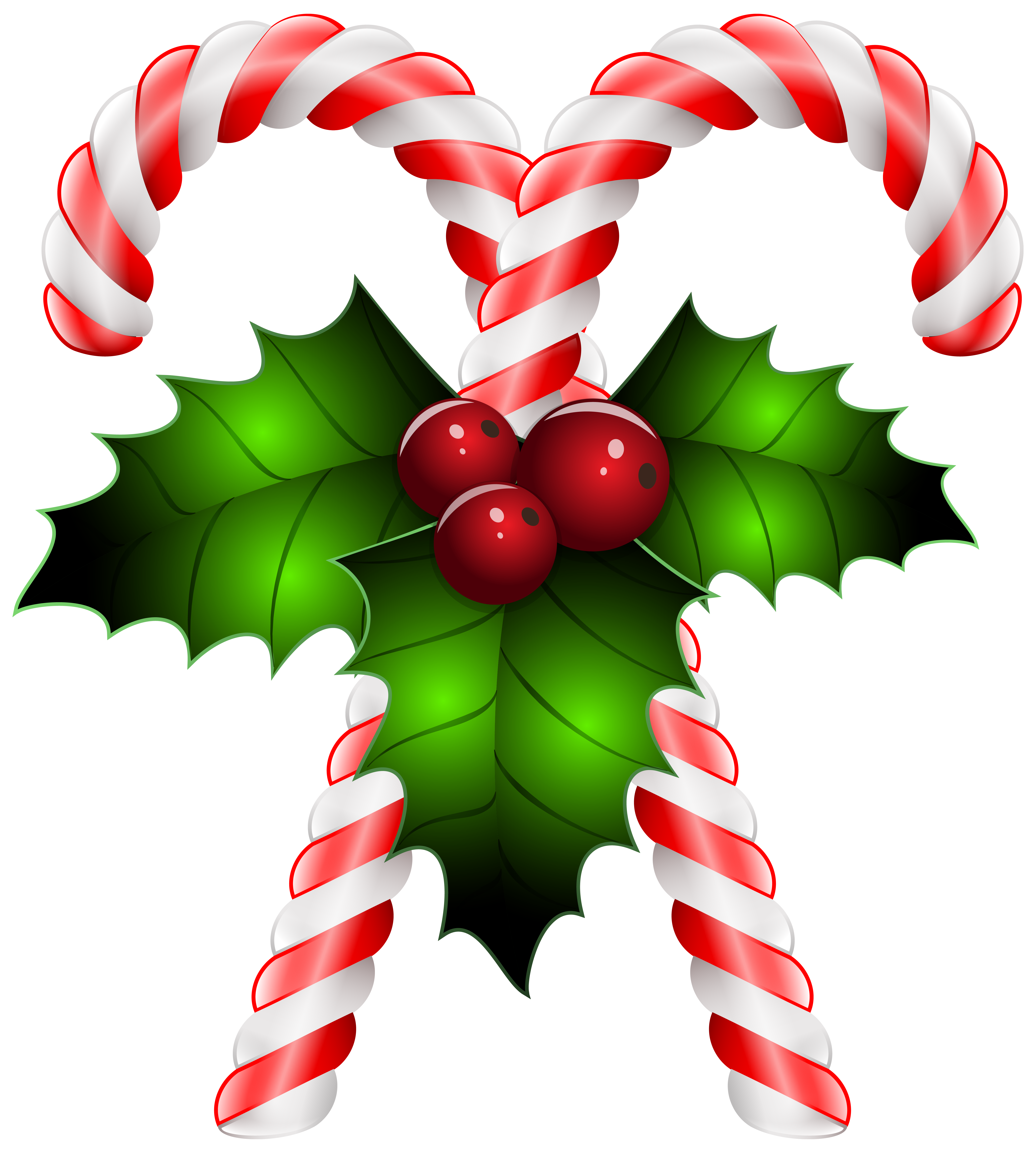 Holly clipart png. Candy canes with transparent