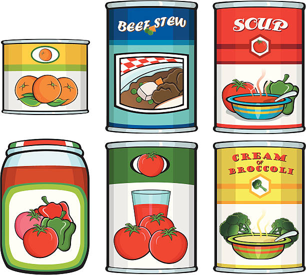canned clipart