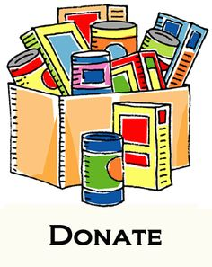 Canned clipart food donation. Keller williams realty drive