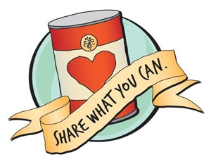 Canned clipart food donation. Souperintendent s fifth annual