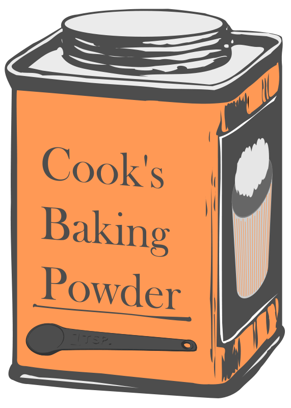 Cook clipart home made food. Baking powder google search